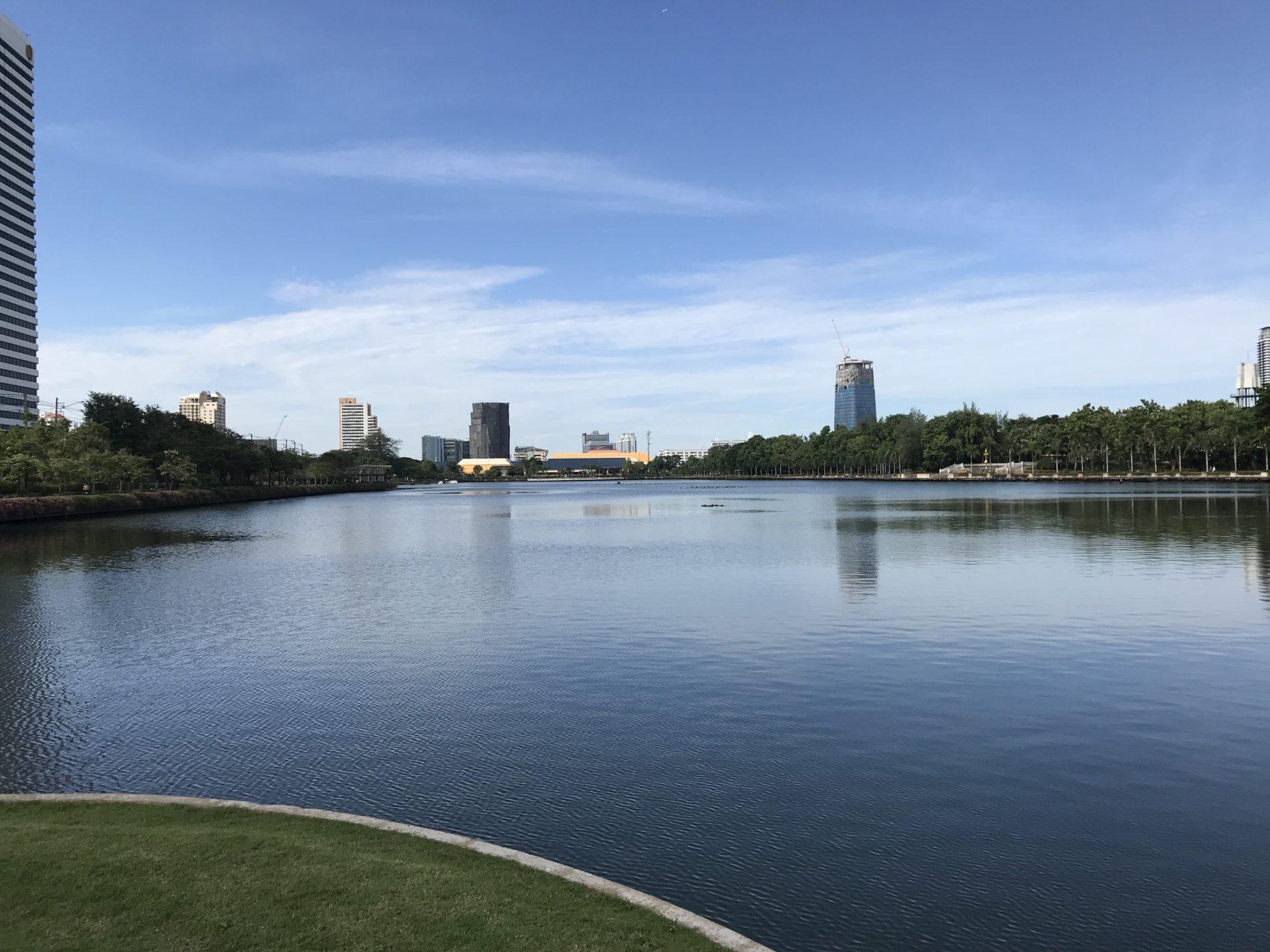 タイ,バンコク,ベンジャキティ公園