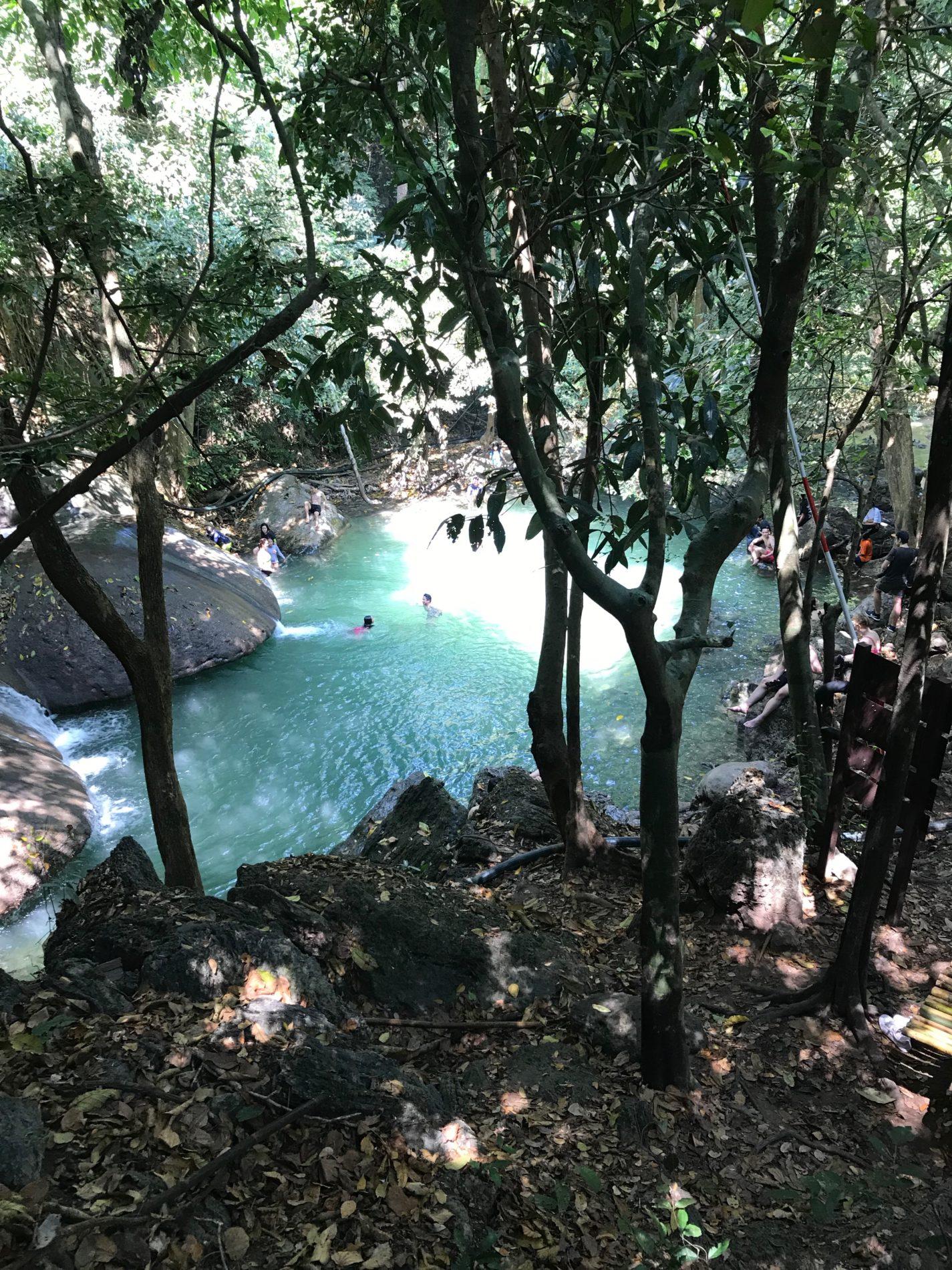 エラワン国立公園 エラワンの滝