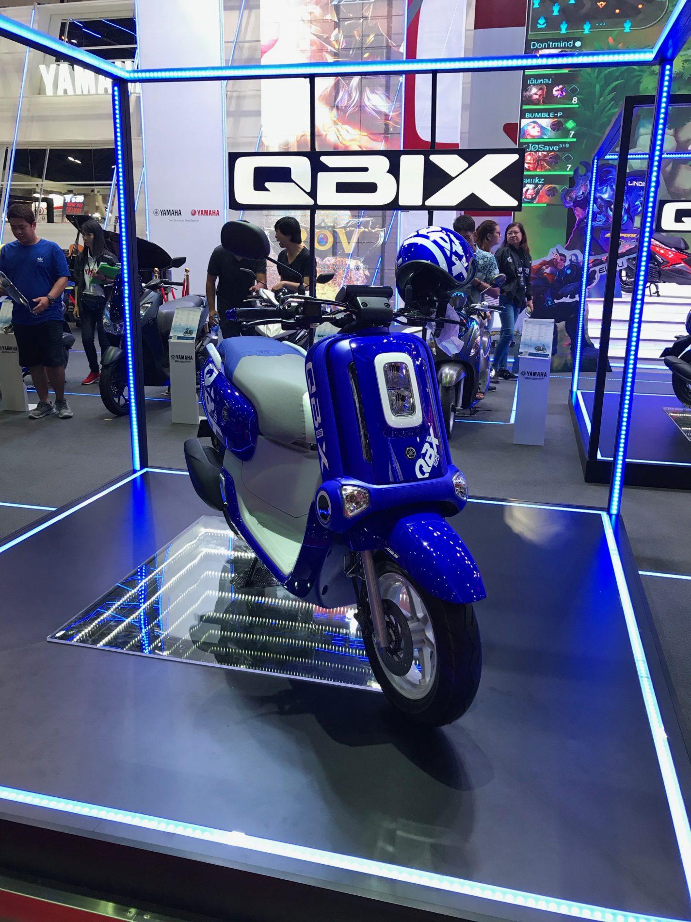 バンコクモーターショー 2019 YAMAHA QBIX