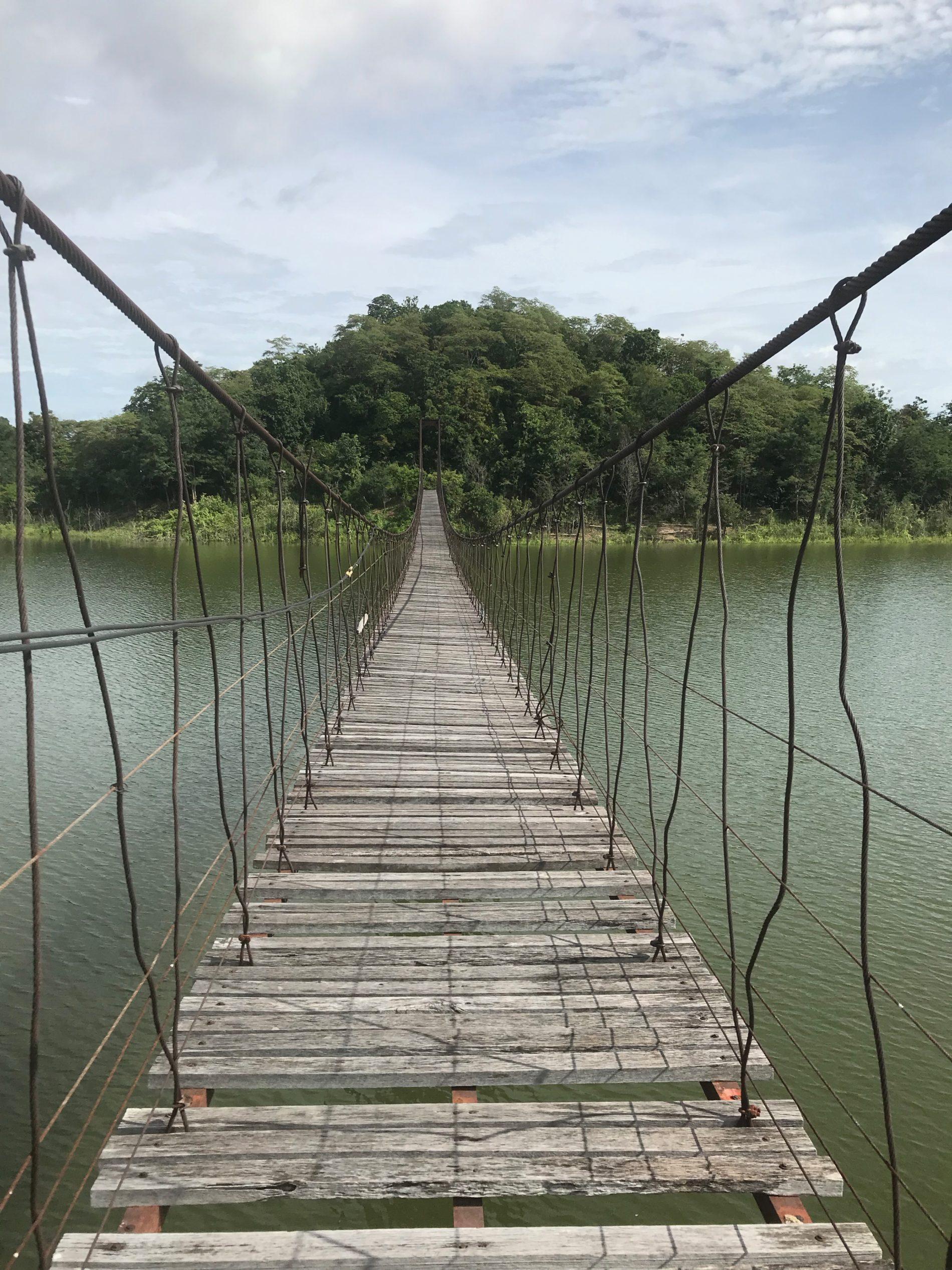 ケーンクラチャン国立公園 Suspention Bridge