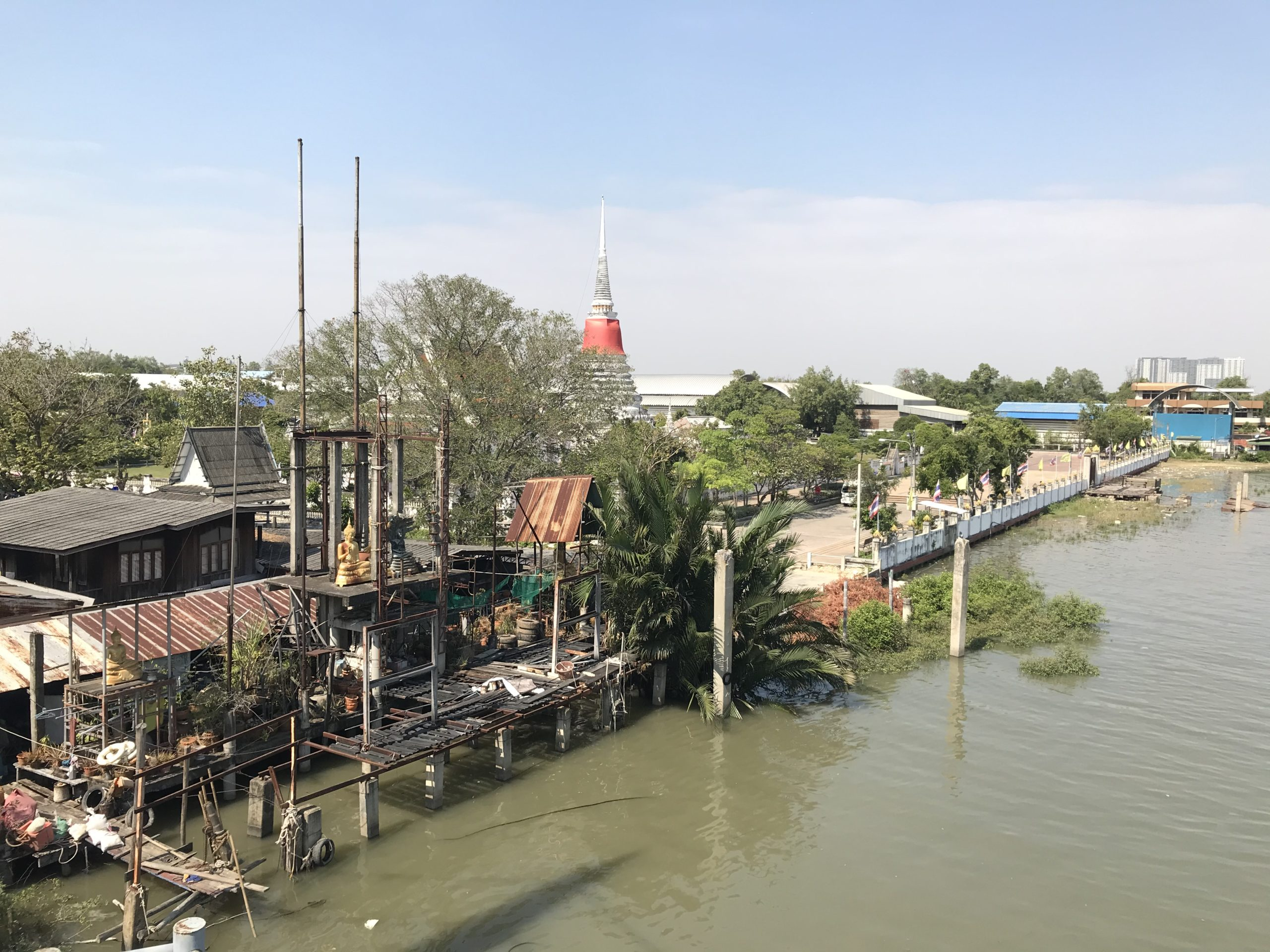 Phra samut chedi寺院〜ピースアサムット要塞