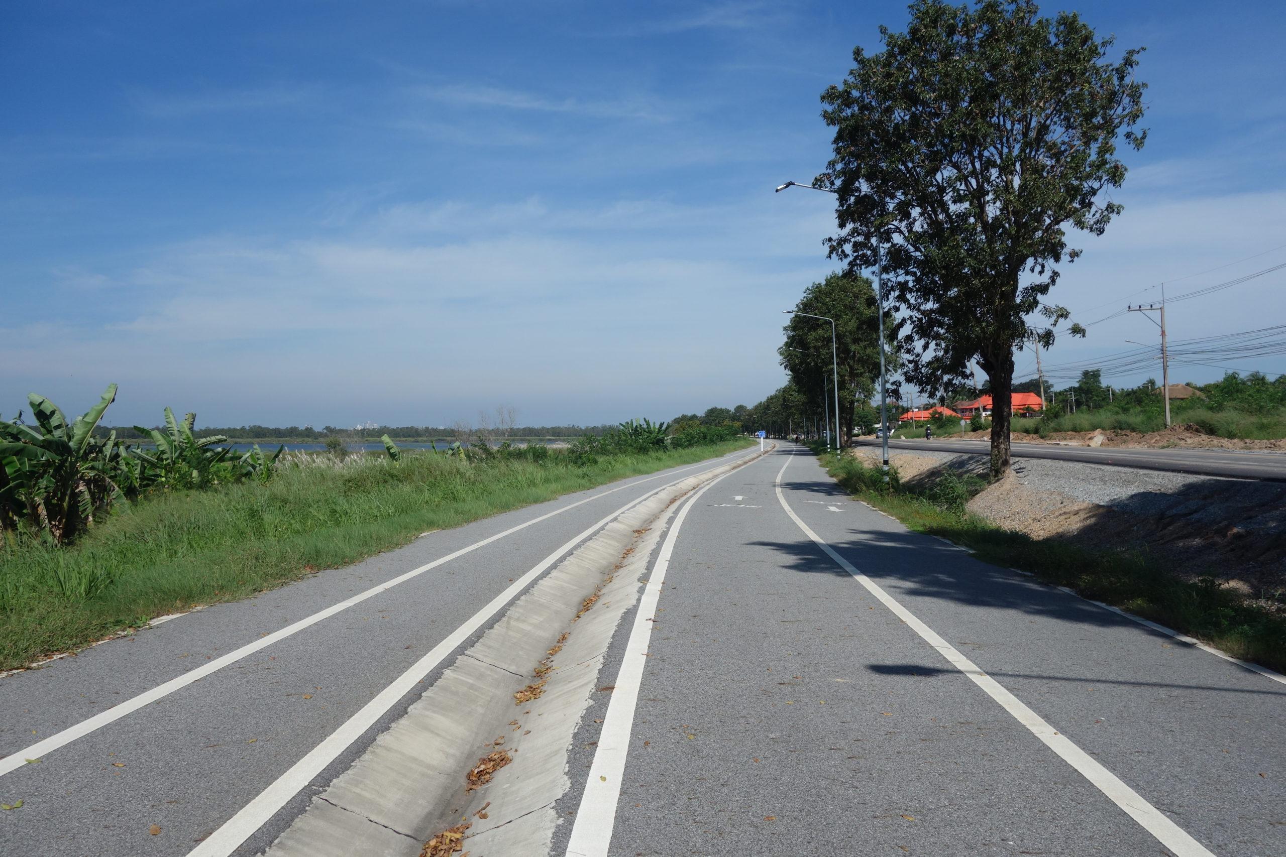 map phrachan サイクリングロード