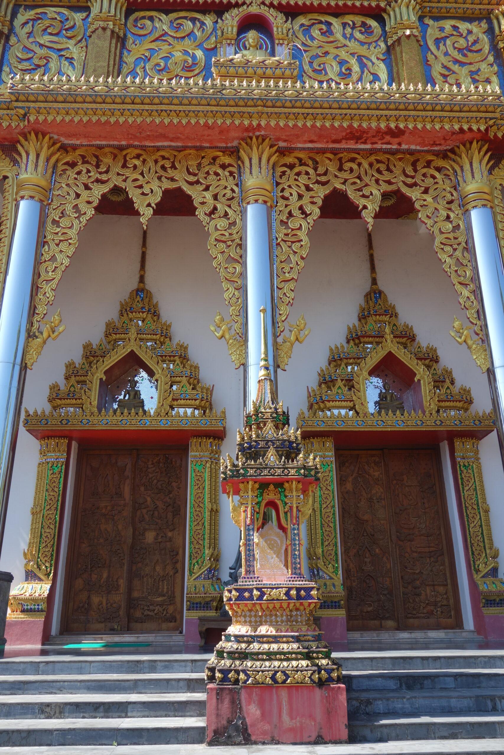 Thai Sangkhlaburi Wat wang Wiwekaram